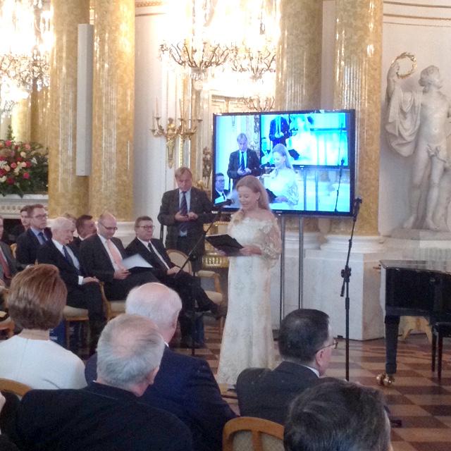 Uroczystość prowadziła Laura Łącz